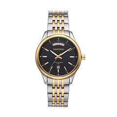 Armitron Men's Two Tone Stainless Steel Watch - 20/5255BKTT