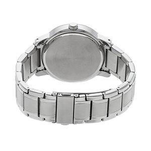 Armitron Men's Diamond Accent Stainless Steel Watch - 20/5263BKSV