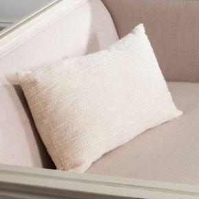 Safavieh Swift Solid Oblong Throw Pillow
