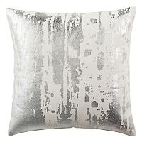Safavieh Metallic Splatter Throw Pillow