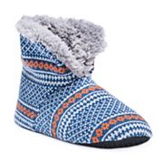 Men's MUK LUKS Knit Bootie Slippers