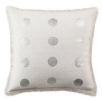Safavieh Metallic Dots Throw Pillow