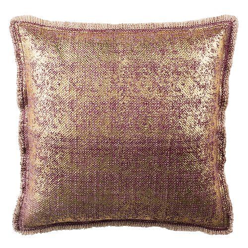 Safavieh Metallic Sponge Throw Pillow