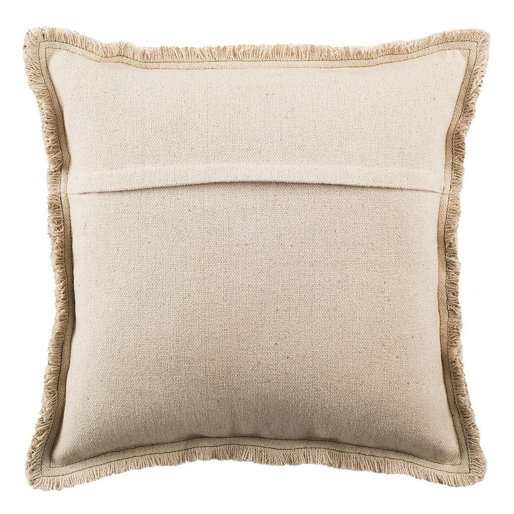 Safavieh Metallic Grid Throw Pillow