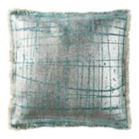 Safavieh Metallic Grid Throw Pillow