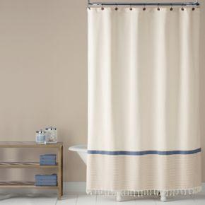Saturday Knight, Ltd. Fringe Shower Curtain