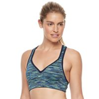 Tek Gear® Bra: Keyhole Medium-Impact Sports Bra
