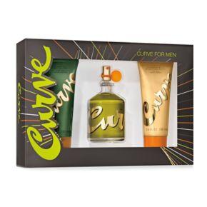 Curve Men's Cologne Gift Set