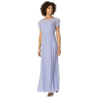Chaps Chiffon Evening Gown - Women's