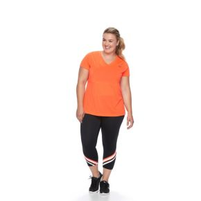 Plus Size FILA SPORT® Heritage Core Workout Tee