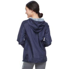 Juniors' SO® Hooded Windbreaker Jacket