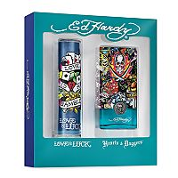 Ed Hardy Men's Cologne Gift Set