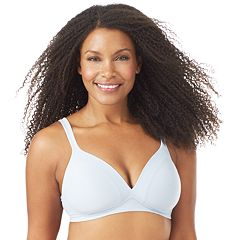 Olga Bra: Play It Cool Wire-Free Full-Figure Contour Bra GM2281A