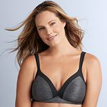 Olga® by Warner's® Bra: Play It Cool Wire-Free Full-Figure Contour Bra GM2281A