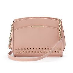 Jennifer Lopez Heather Studded Crossbody Bag