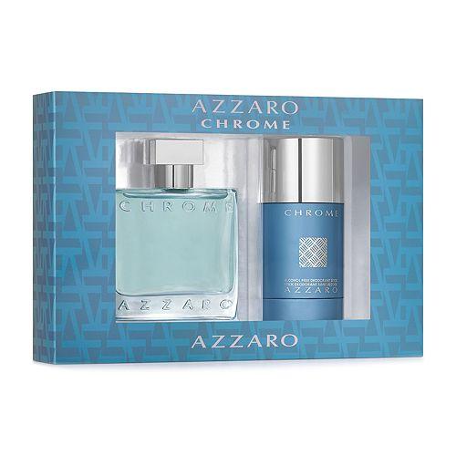 Azzaro Chrome Men's Cologne Gift Set
