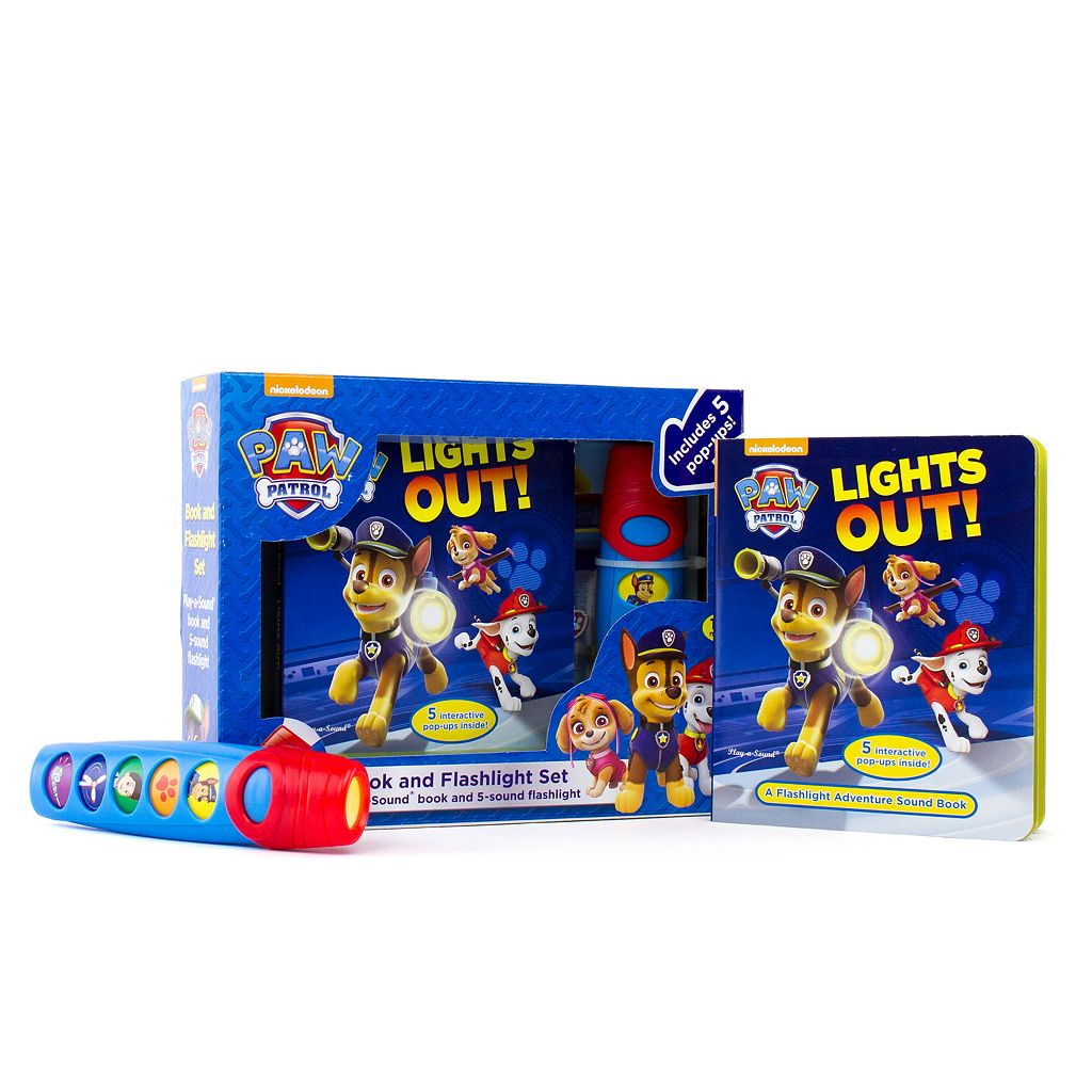 Paw Patrol Flashlight Adventure Box Set