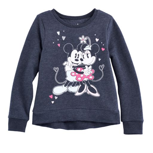 Disney's Mickey Mouse & Minnie Mouse Girls 4-10 High-Low Fleece Pullover by Jumping Beans®