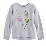Disney's Tinker Bell Girls 4-10 High-Low Fleece Pullover by Jumping Beans®