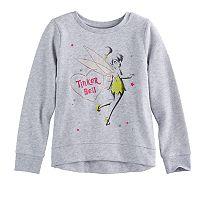 Disney's Tinker Bell Girls 4-10 High-Low Fleece Pullover by Jumping Beans®