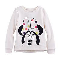 Disney's Minnie Mouse Girls 4-10 High-Low Fleece Pullover by Jumping Beans®