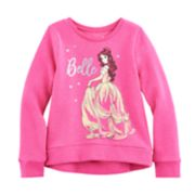 Disney's Beauty & The Beast Girls 4-10 Belle High-Low Fleece Pullover by Jumping Beans®