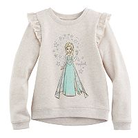Disney's Frozen Girls 4-10 Elsa Ruffle High-Low Fleece Pullover by Jumping Beans®