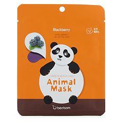 berrisom Panda Animal Blackberry Face Mask