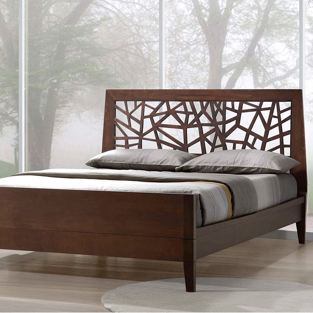 Baxton Studio Jennifer Modern Tree Branch Platform Bed