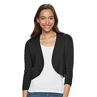 Women's Apt. 9® Solid Cropped Shrug