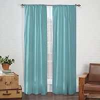 Pairs To Go 2-pack Cadenza Microfiber Curtain