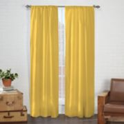 Pairs To Go 2-pack Cadenza Microfiber Window Curtain