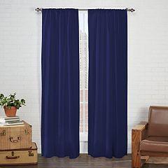 Pairs To Go 2-pack Cadenza Microfiber Window Curtain