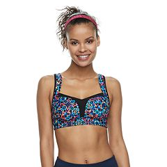 Women's TYR Carnivale Amira Swim Crop Top