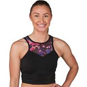 Jockey Sport Bras: Mesh Yoke Medium-Impact Longline Sports Bra 9394