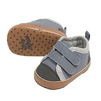 Baby Boy OshKosh B'gosh® Blue Low-Top Sneaker Crib Shoes
