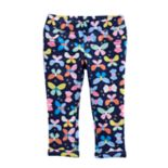Toddler Girl Jumping Beans® Butterfly Capri Jeggings