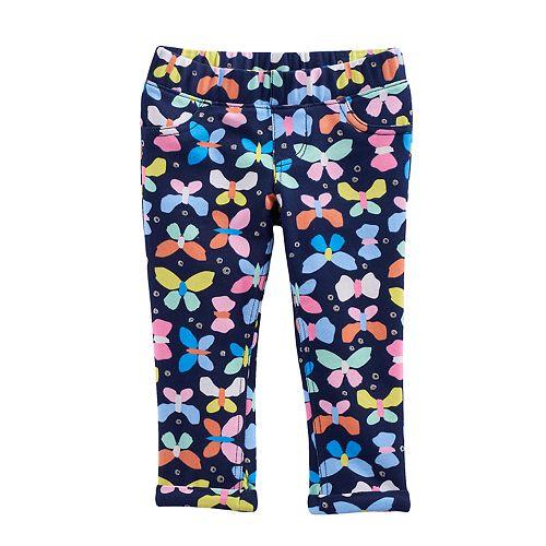 Toddler Girl Jumping Beans® Butterfly Capri Jeggings