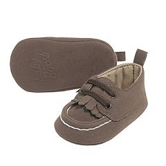 Baby Boy OshKosh B'gosh® Moccasin Boat Crib Shoes