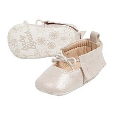 Baby Girl OshKosh B'gosh® Bow Moccasin Crib Shoes