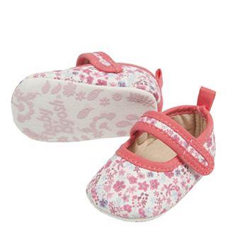 Baby Girl OshKosh B'gosh® Pop Trim Mary Jane Crib Shoes
