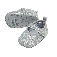 Baby Girl OshKosh B'gosh® Glitter Mary Jane Crib Shoes