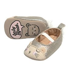 Baby Girl OshKosh B'gosh® Glitter Cat Mary Jane Crib Shoes
