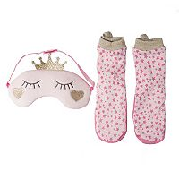 Girls 2-6 OshKosh B'gosh® Princess Socks & Sleep Mask Set