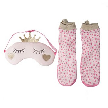 Girls 2-6 OshKosh B'gosh® Princess Socks & Sleep Mask Set