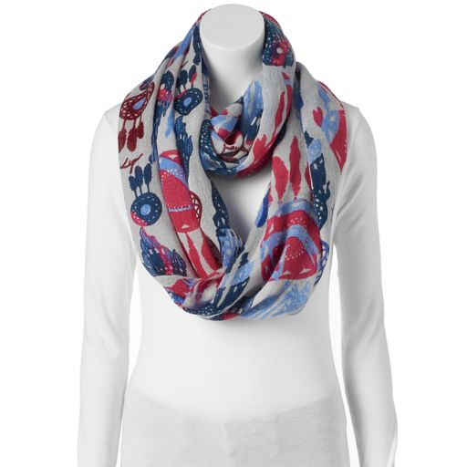 love this life Dream Catcher Infinity Scarf