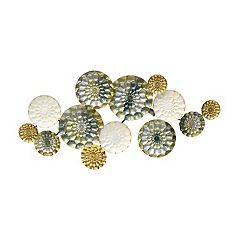 Stratton Home Decor Santorini Metal Wall Decor