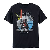 Boys 8-20 LEGO Star Wars Darth Vader Tee
