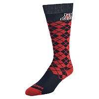 Men's Mojo Arizona Wildcats Argyle Socks