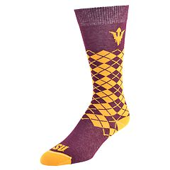 Men's Mojo Arizona State Sun Devils Argyle Socks